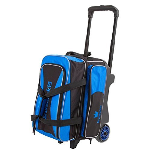 Brunswick Crown Double Roller Bowling Bag  Royal