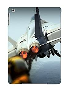Hot Snap-on Airplanes Navy Vehicles Aircraft Carriers F18 Hornet Fighter Jet Hard Cover Case/ Protective Case For Ipad Air