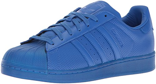 adidas Originals Men's Superstar Adicolor Running Shoe Blue, ((13 M US)