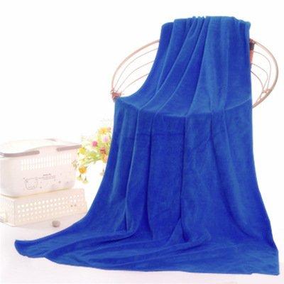 Toalla de baño Salón de belleza Hacer camas Sábanas Microfibra Toallas grandes 70 * 140cm Múltiples Opciones de Color , blue: Amazon.es: Hogar