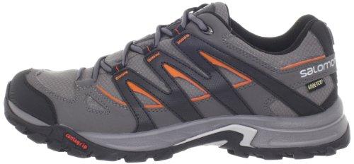 Zapatillas de senderismo Salomon Eskape GTX gris para hombre 2014 Gris/Negro/Naranja