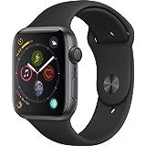 Apple Watch Series 4 - GPS - Space Gray Aluminium Black Sport Band - 44mm