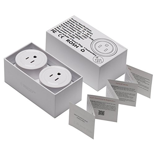 Wifi Smart Plug, Wi-Fi Smart House Devices Light Switch Power Outlet ...
