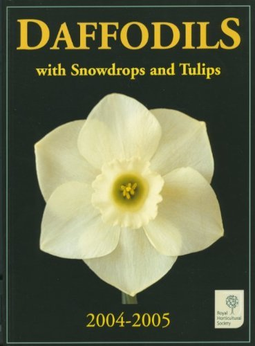 Bronze Daffodil - Daffodils with Snowdrops and Tulips 2004-2005 by Malcolm Bradbury (2004-09-01)