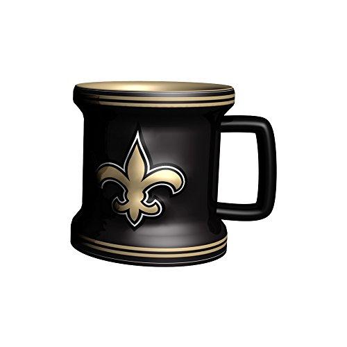 NFL New Orleans Saints Sculpted Mini Mug, 2-ounce