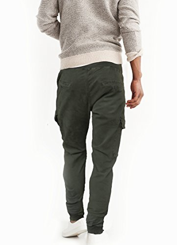 Laterali Slim Con Cargo Pantaloni Tasconi Fun Grigio Uomo Coolo Lunghi Fit gwSnq6U