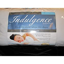 """Indulgence Side Sleeper Pillow by Isotonic 36""""x20"""" King"""