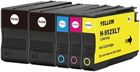 OCP REMANUFACTURADO HP 952 x l Cartucho de tinta paquete de 5 de ...