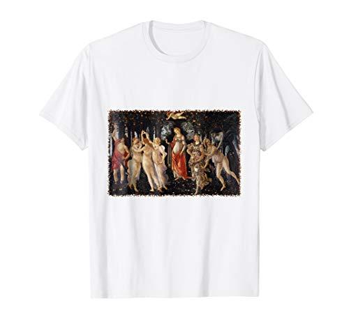 Primavera (aka Spring) by Sandro Botticelli T-Shirt