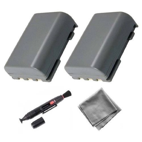 UltraPro 2-Pack NB-2LH High-Capacity Replacement Battery for Canon EOS 350D 400D Rebel (Nb 2lh Camera Battery)