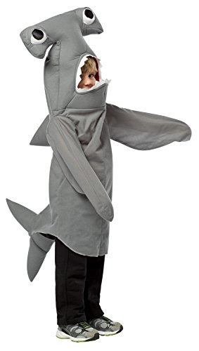 UHC Boy's Hammerhead Shark Outfit Comical Theme Child Halloween Costume, (Toddler Hammerhead Shark Costumes)