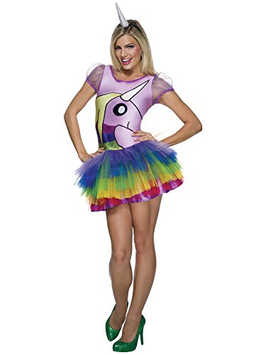 Womens Unicorn Fantasy Costumes (Rubie's Costume Co Women's Adventure Time Lady Rainicorn Costume, Multi, X-Small)
