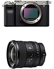 $2547 » Sony Alpha 7C Full-Frame Mirrorless Camera - Silver with Sony FE 20mm F1.8 G Full-Frame Large-Aperture Ultra-Wide Angle G Lens, Model: SEL20F18G