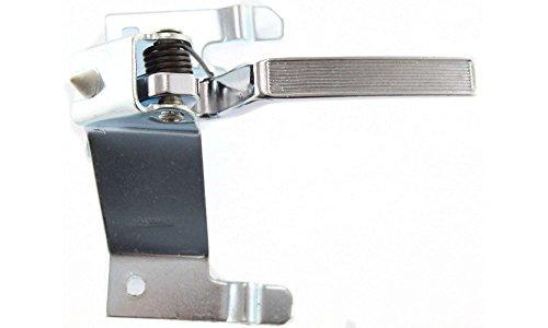 Evan-Fischer EVA18772019222 New Direct Fit Interior Door Handle for MONTE CARLO 78-88 FRONT LH Inside Metal w/ Chrome Lever w/o Case Replaces Partslink# - Monte Carlo Lock Door New