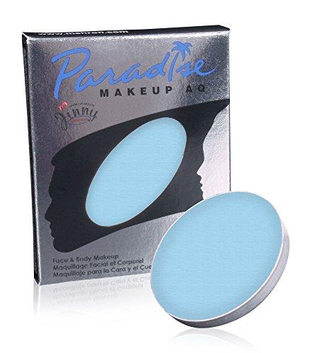 Mehron Makeup Paradise Makeup AQ Refill (.25 oz) (LIGHT BLUE) ()