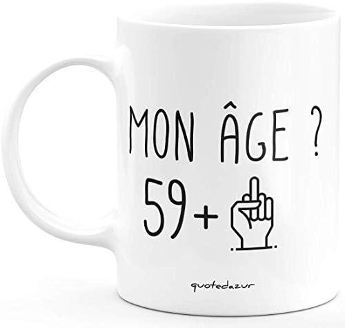 Mug 60 Ans Rigolo drôle – Tass…