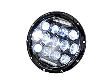 Led Headlights 7 Inch 175mm Permit With E Pass Amazon Co