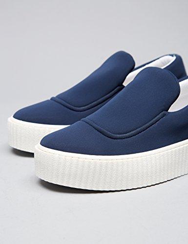 Blu Blue on in Slip FIND Scarpa Donna Neoprene 0SYYwAq
