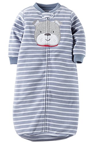 Carters One Piece Zoo Animals Micro Fleece Sleep Bag Or