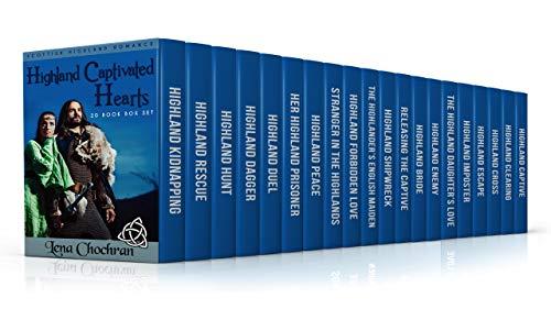 Highland Captivated Hearts: 20 Book Box Set: Highland Scottish Romance ()