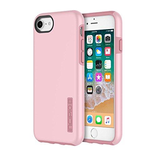 Incipio IPH-1465-RSQ  Apple IPhone 6 / 6s / 7 / 8 DualPro Case - Rose Quartz (Frame Quartz Ring)