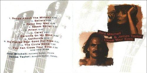 Joni Mitchell - Joni Mitchell & James Taylor Close Your Eyes - Zortam Music