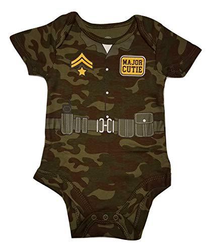 (Wonder Nation Baby Boys Major Cutie Army Camo Bodysuit (18)