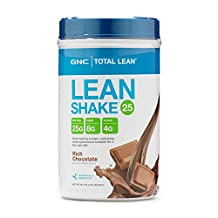 GNC Total Lean Shake 25 High Protein Shake, Rich Chocolate, 1.83 Pounds