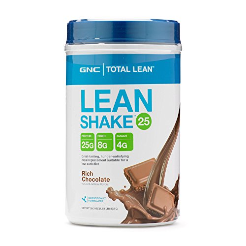 GNC Total Lean Shake - Meal Replacement, Lean Muscle Tone, Healthy Metabolism - Rich Chocolate, 29.35 Ounce (Shake Muscle Protein High Lean)