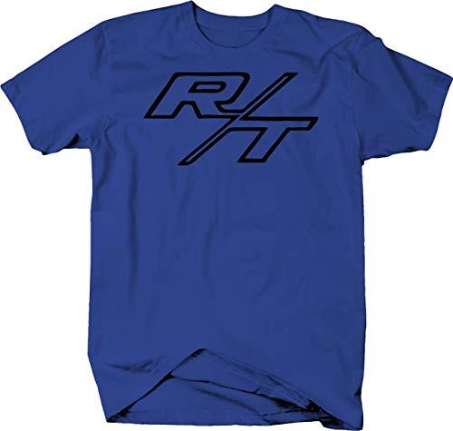 R/T RT Dodge Mopar Charger Challenger Hemi V8 Muscle Car Color Tshirt - XLarge