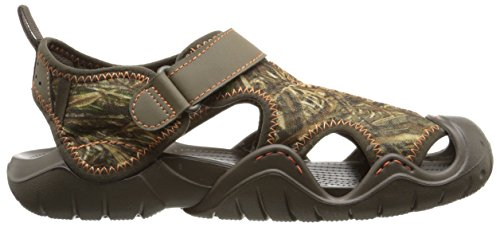 Crocs Men's Swiftwater Realtree Max-5 Sandal Chocolate/Chocolate newest discount 2014 outlet with credit card footlocker pictures online tumblr cheap online IBNWOprbE