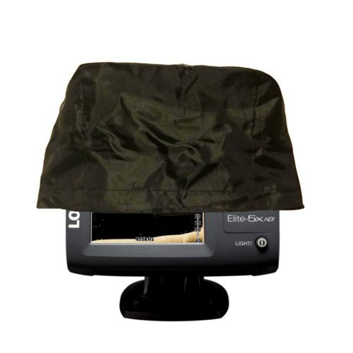 "Fishfinder, Depth Finder Poly Sun Cover for 5"" Models - Protects Your Screen from Sun/Weather Damage with Drawstring"
