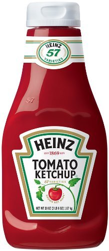 French Fries Ketchup (Heinz Tomato Ketchup, 38 ounce Plastic Bottle)
