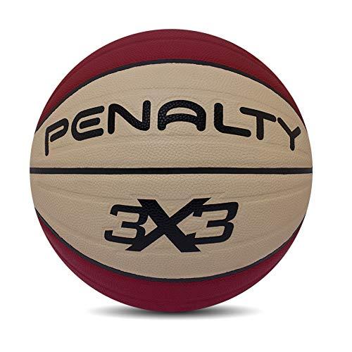 Bola Basquete 3X3 Pro IX Penalty 74 cm Vermelho