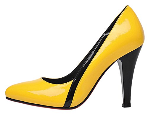 guoar-womens-high-heel-block-big-size-solid-shoes-pointed-toe-patent-pumps-for-wedding-party-dress