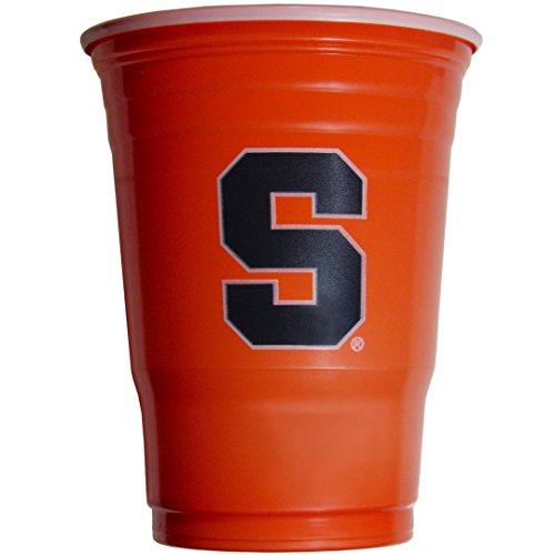 NCAA Siskiyou Sports Syracuse Orange Plastic Game Day Cups, 18 Count, (18 oz) Team Color ()