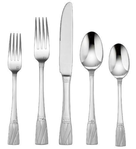 Cuisinart CFE-01-R20 20-Piece Flatware Set, - Stainless Flatware Cuisinart