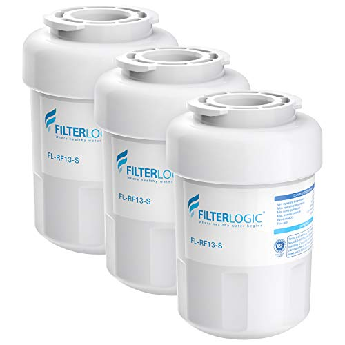 FilterLogic NSF 53&42 Certified MWF Refrigerator Water Filter, Replacement for GE SmartWater MWFP, MWFA, GWF, HDX FMG-1, WFC1201, GSE25GSHECSS, PC75009, RWF1060, 197D6321P006, Kenmore 9991 (Pack of 3) (Ge Profile Arctica Refrigerator Water Filter Replacement)