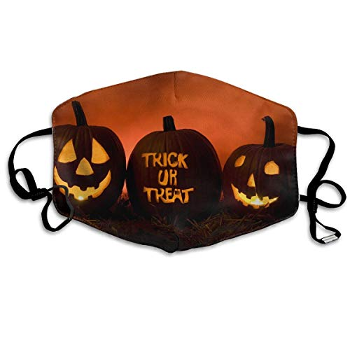 SOADV Mouth Masks Anti Dust Face Mouth Cover Mask Scary Halloween Anti Pollution Breath Healthy -