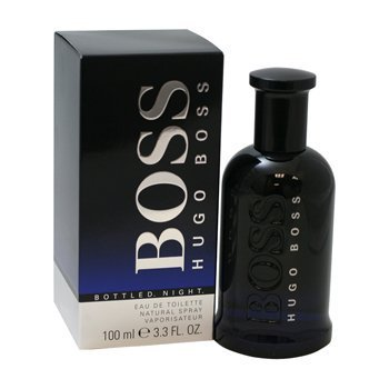 BOSS BOTTLED NIGHT. De Colonia Eau de Toilette Spray 3.3 Oz/100 ml by