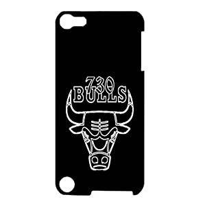 Chicago Bulls Cool Pattern Hardshell Plastic Case Cover For Ipod Touch 5th Generation