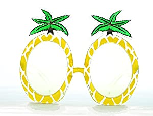 Amazon.com: Summer beach party props yellow pineapple