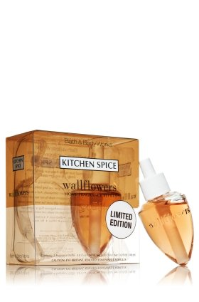 Bath & Body Works Kitchen Spice Limited Edition Wallflower Home Fragrance Refills - 2 pack by Bath & Body Works