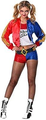 Generique - Disfraz Harley Quinn Adulto Deluxe - Escuadrón Suicida ...