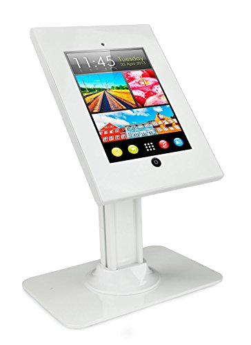 Mount-It! Anti-Theft iPad Table Mount, Full Motion Universal Tablet Stand, Fits iPad 2, 3, 4, iPad Air, and 9.7 Inch (New Tech Tv Base)