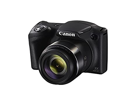Canon PowerShot SX430 IS - Cámara compacta de 20 MP (Pantalla de 3, Zoom óptico 45x, WiFi con NFC Activo, Smart Auto, Canon Connect, Creative ...