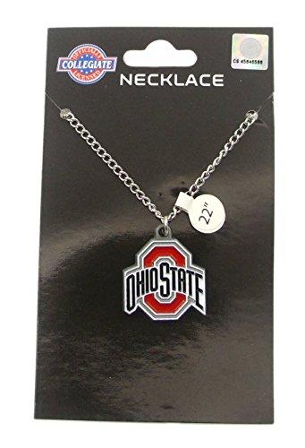 Ohio State Buckeyes Logo Pendant Chain Necklace - NCAA College Athletics Fan Shop Sports Team Merchandise (Pendant State Logo)