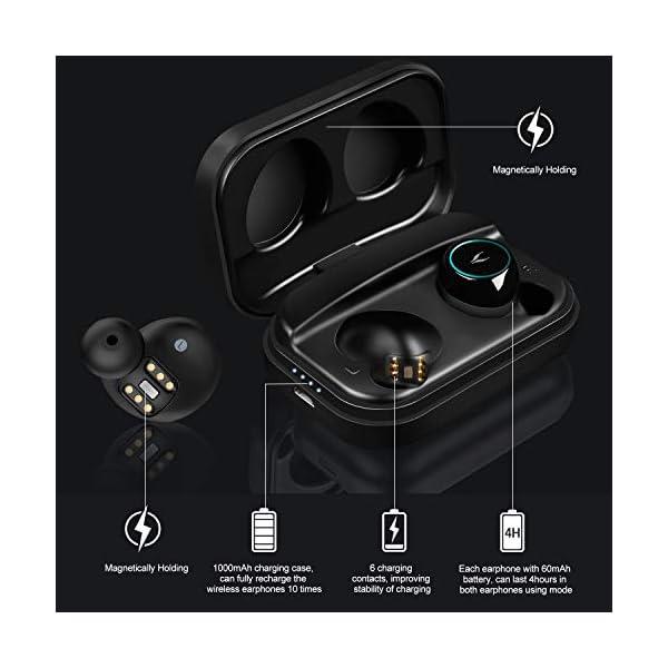 Wireless Earphones, MYCARBON Bluetooth 5.0 True Wireless