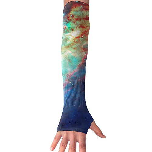Colorful Universe Super Long Fingerless Anti-uv Sun Protection Sleeves Gloves For Outdoor Activities Apply To Camping,Driving,Hiking,Cycling Arm Prevent Injuries Modeling - Apply Macys