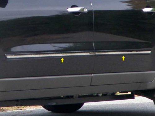 QAA FITS Traverse 2009-2017 Chevrolet (4 Pc: SS Rocker Panel Body Accent Trim, Insert Kit. 0.75
